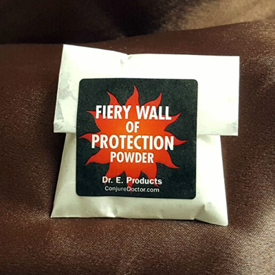 Fiery Wall of Protection Powder