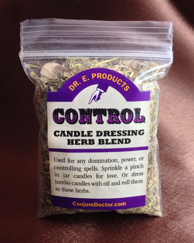 Control Candle Dressing Herb Blend - Dr  E  Products