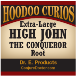 High John The Conqueror Root, Extra Large