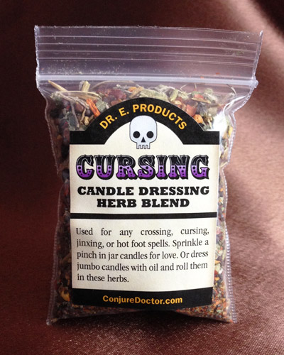 Cursing Candle Dressing Herb Blend - Click Image to Close