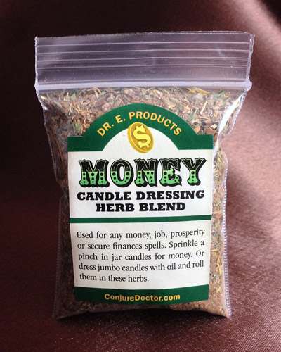 Money Candle Dressing Herb Blend - Click Image to Close