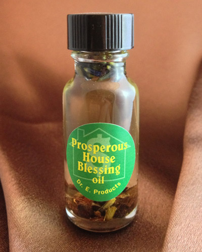 Prosperous House Blessing Oil - Click Image to Close