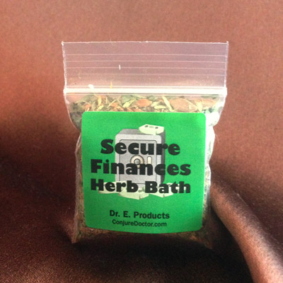 Secure Finances Herb Bath