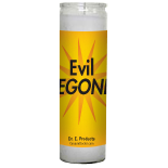 Evil BEGONE! Candle - Setting of Lights - Click Image to Close