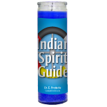 Indian Spirit Guide Candle - Setting of Lights