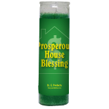Prosperous House Blessing Candle - Setting of Lights