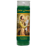 Saint Joseph Candle - Setting of Lights