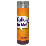 Talk to Me Candle - Setting of Lights - Click Image to Close