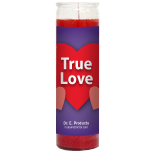 True Love Candle - Setting of Lights - Click Image to Close